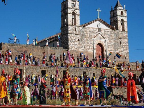 Celebración del Vilcas Raymi en la región Ayacucho