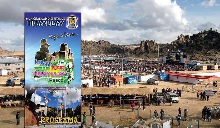 Turistas participaron de XIX Ruraltour Huayllay 2015